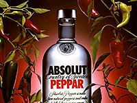 "Водка ""Absolut Peppar"""