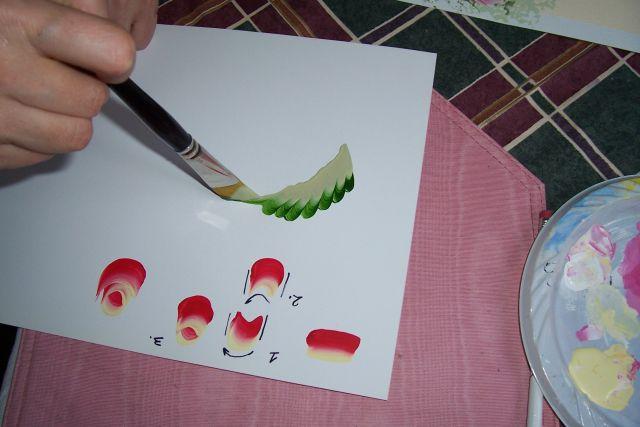 Урок декоративной росписи.