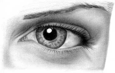 Как рисовать глаз II.