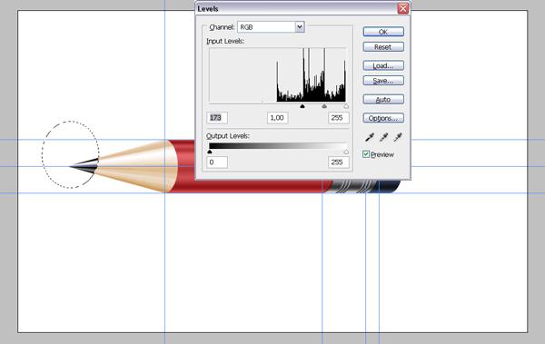 Рисуем карандаш