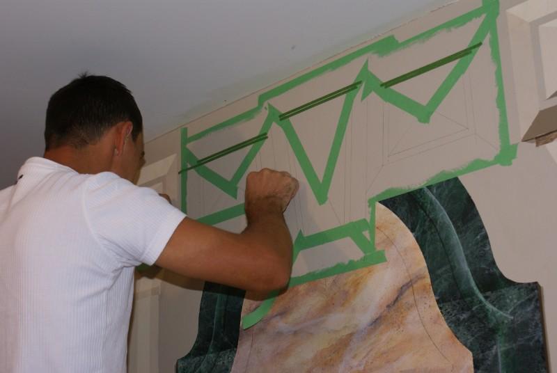 Основы рисования на стенах. Азы 3.