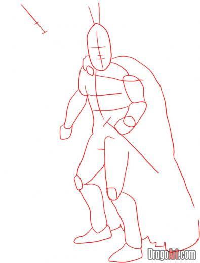 Как нарисовать спартанского воина