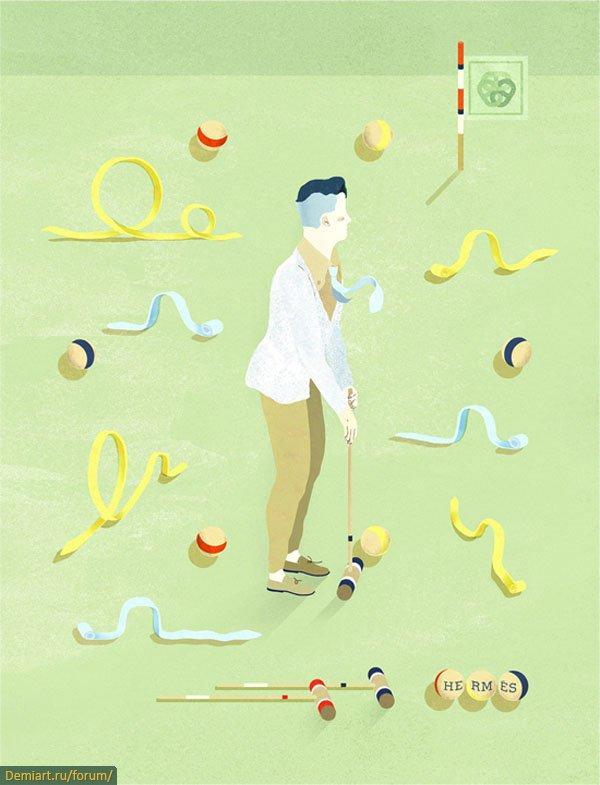 Скрытые сюрпризы в иллюстрациях Гарсиа Лам