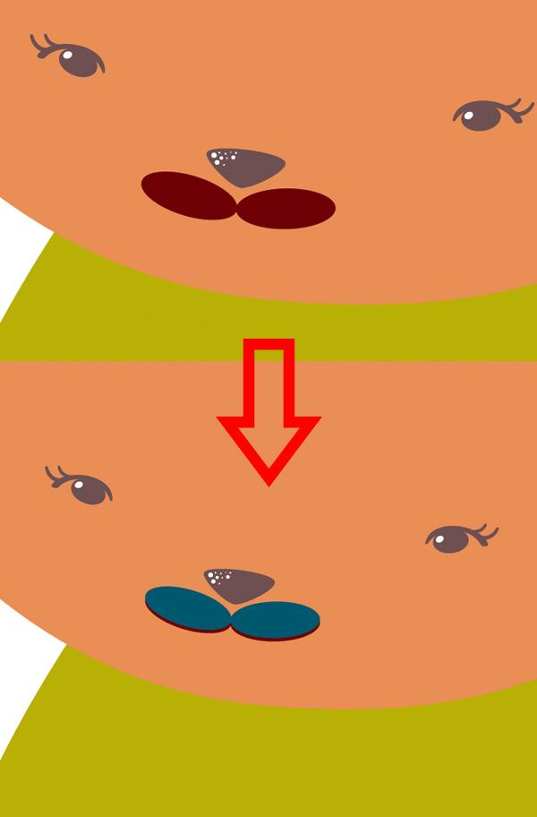 Рисуем «плоскую» текстурированную лисичку