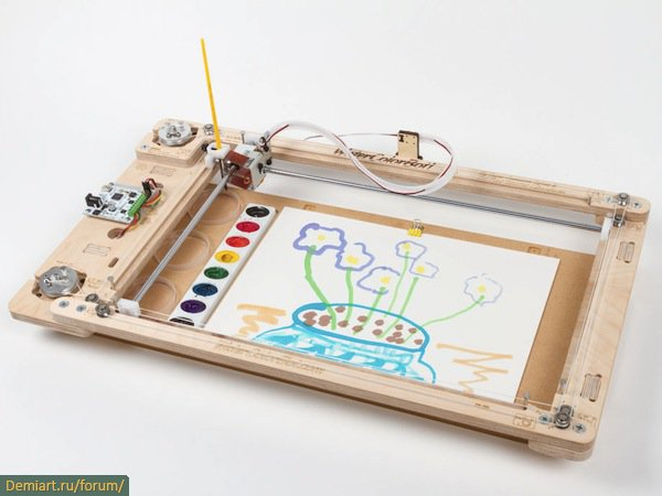 WaterColorBot: устройство для рисования картин
