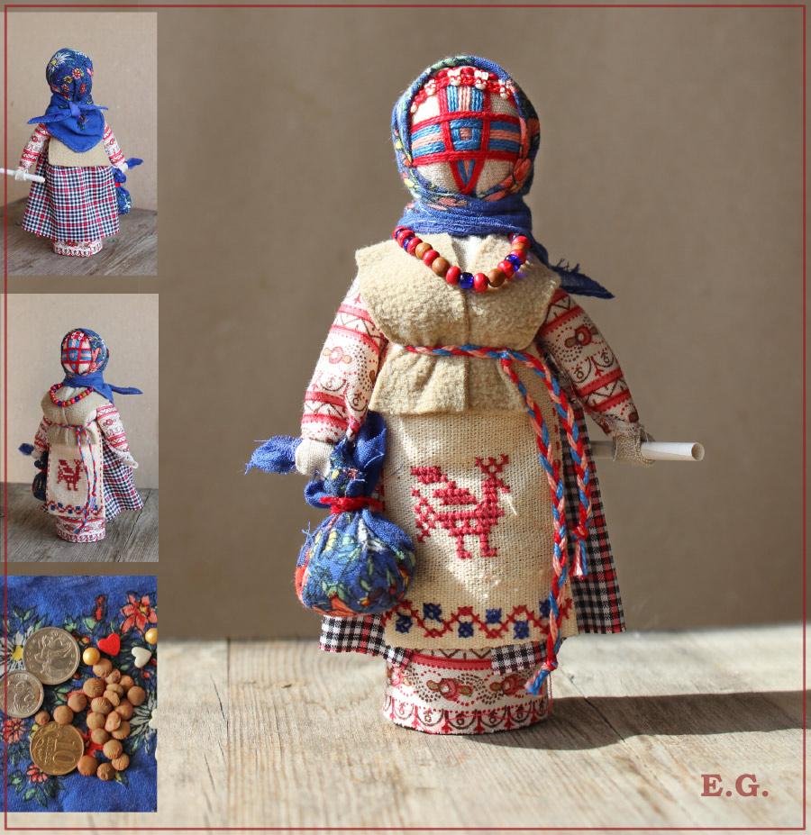 Белорусские куклы мотанки своими руками