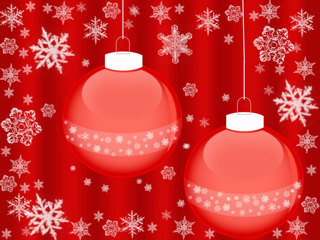 Новогодние игрушки со снежинками