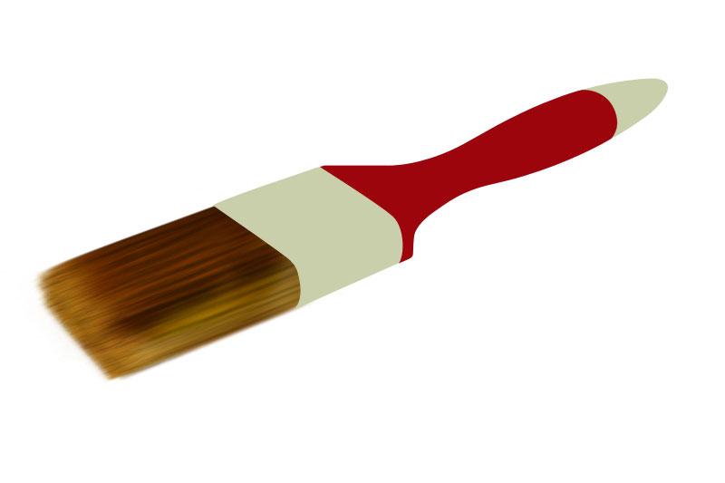 Рисуем кисть