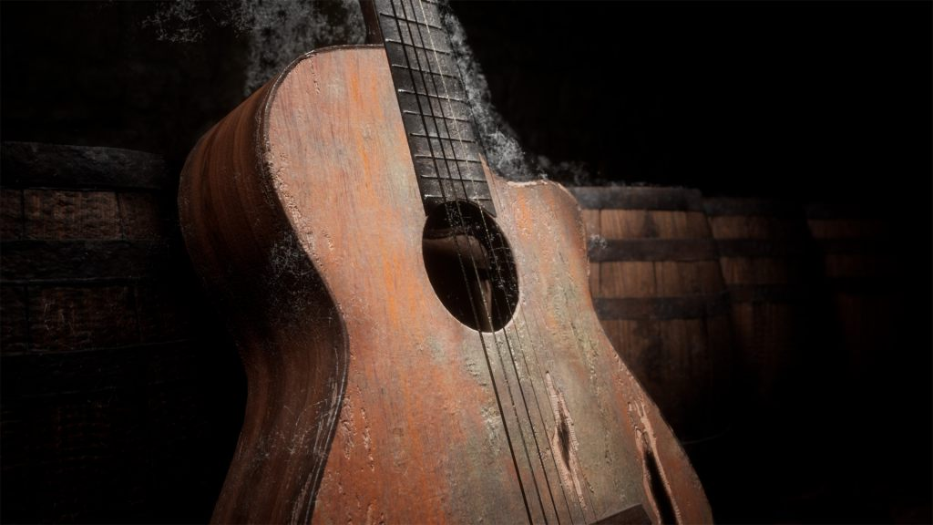 Старая гитара