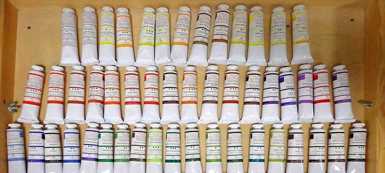 Масляные краски для живописи – что выбрать?