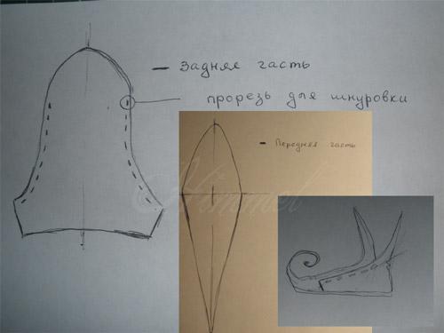 Урок:миниатюрные эльфийские башмачки