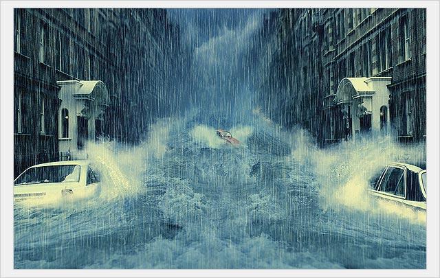 Как Создать Затопленный город