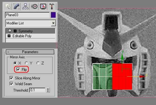 Моделирование робота Gundam RX-78-2 (part 1)