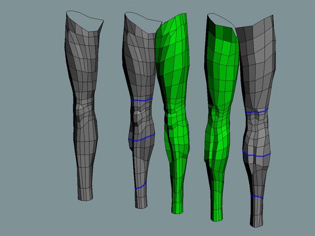 Subdivision modelling (part 4)