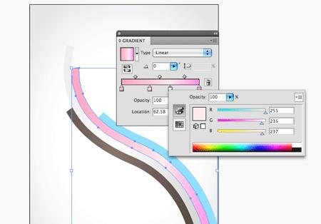 Абстрактный векторный дизайн