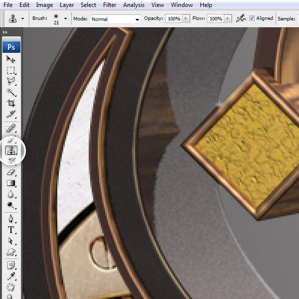 Урок: текст в стиле стимпанк. Illustrator, Cinema 4D и Photoshop. Часть 2. (Фото 29)