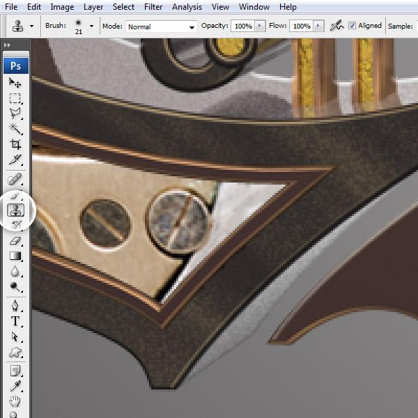 Урок: текст в стиле стимпанк. Illustrator, Cinema 4D и Photoshop. Часть 2. (Фото 30)