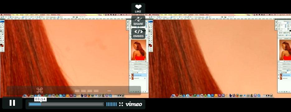 Фоторетушь волос от Youssef Sarhan
