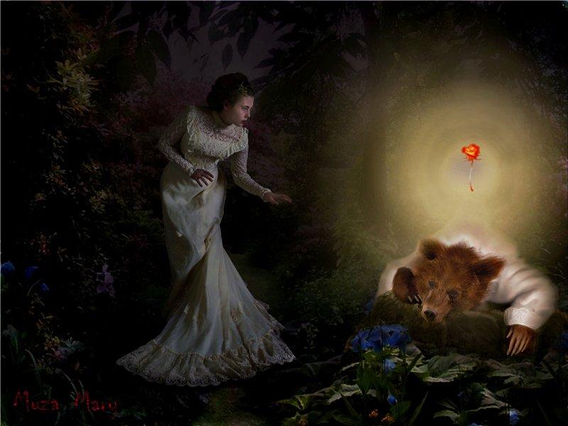 Рисунки по сказке аленького цветочка