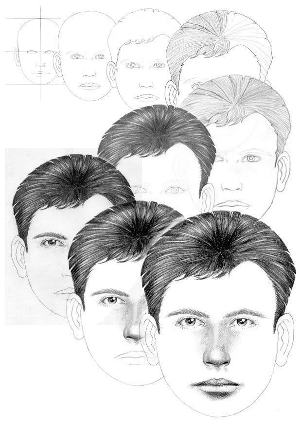 1-face-outline. Как рисовать