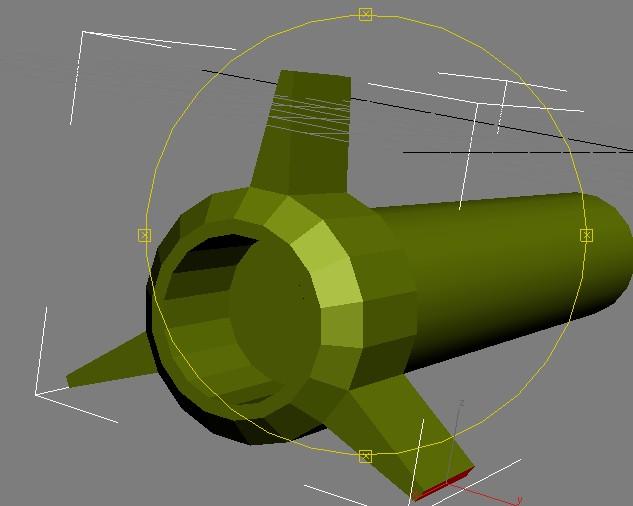 Анимация ракеты