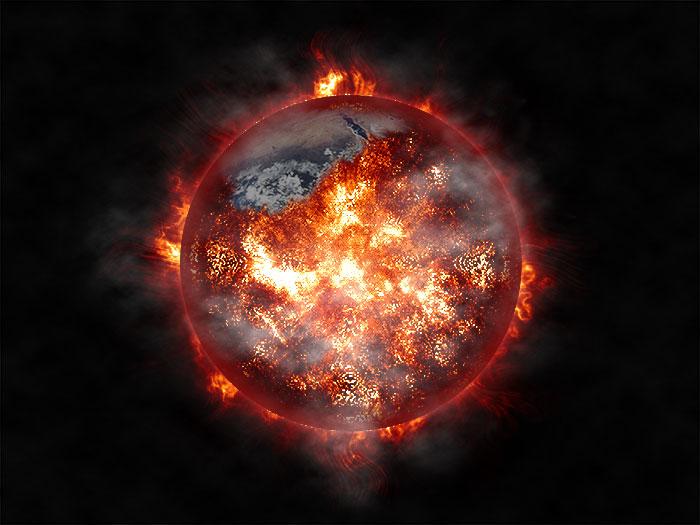 Поджигаем планету