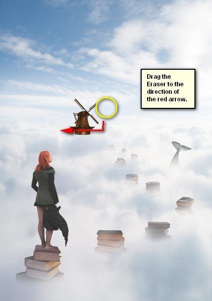 Создание волшебного города в облаках