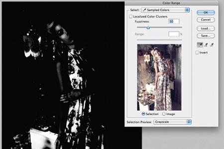Ретушь изображений методом частотного разложения