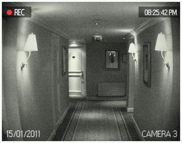 Реалистичный Эффект Камеры Безопасности