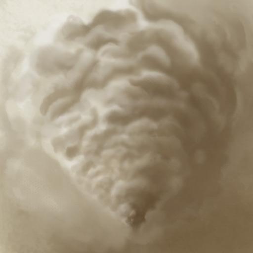 Как рисовать густые облака