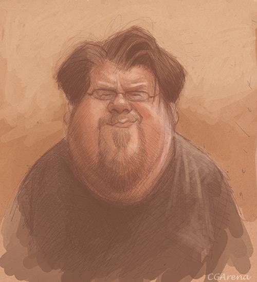 Рисуем портрет Натана *