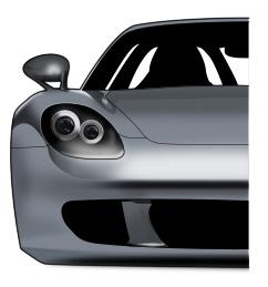 Рисуем Porsche Gt *