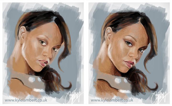 Уроки как рисовать портреты в фотошоп